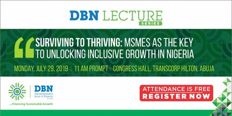 DBN ANNUAL LECTURE SERIES tickets