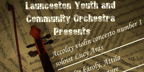 Launceston Youth and Community Orchestra Concert tickets