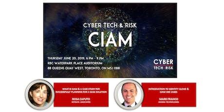 Cyber Tech & Risk - CIAM tickets