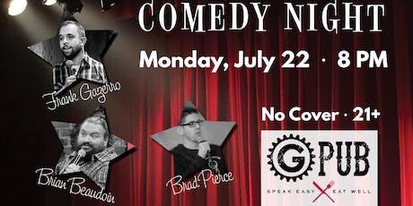GPub Comedy Night tickets