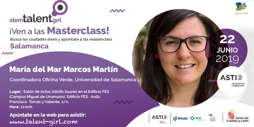 Master Class Stem Talent Girl - María del Mar Marcos Martín
