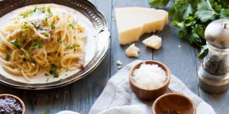 Quick Fix: Pasta Carbonara tickets