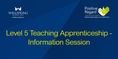 Level 5 Teaching Apprenticeship - Information Session! tickets