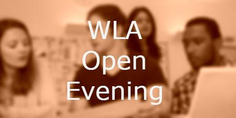 WLA Open Evening tickets