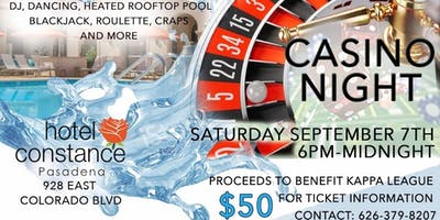 Pasadena Alumni of Kappa Alpha Psi Casino Night Scholarship Fundraiser