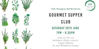 Gourmet Vegan Supper Club