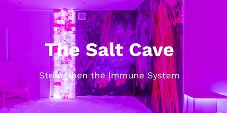 Salt Cave: Wim Hof Method breathing session (8pm) tickets