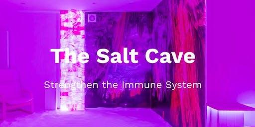 Salt Cave: Wim Hof Method breathing session (8pm)