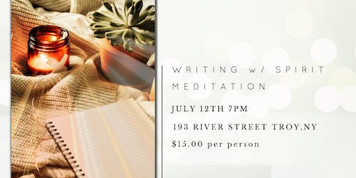 Writing With Spirit Meditation Event