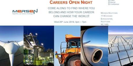 Mersen Careers - Open Night tickets