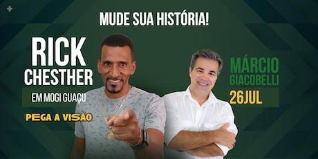 Rick Chester em Mogi Guaçu ingressos