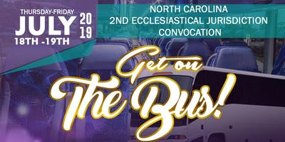 Get on the Bus - North Carolina 2nd Jurisdiction Convocation