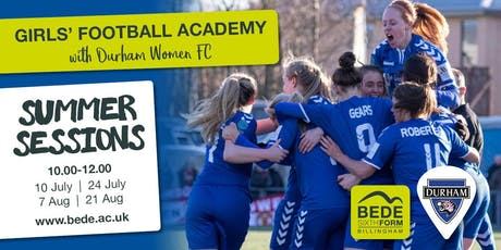 Girls' Football Academy Summer Session tickets