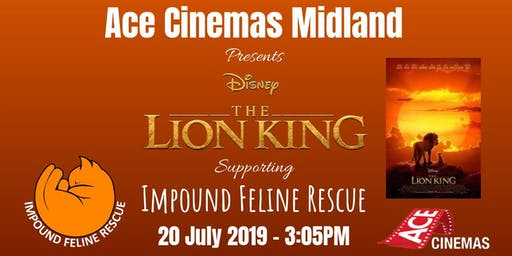 The Lion King - Impound Feline Rescue Fundraiser
