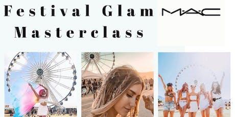 MAC FESTIVAL GLAM MASTERCLASS tickets
