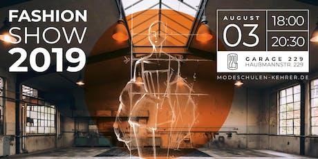 Fashion Show der Modeschule Brigitte Kehrer Stuttgart Tickets