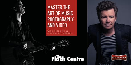 Master the art of music photography and video with Peter Neill! tickets