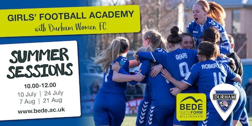 Girls' Football Academy Summer Session