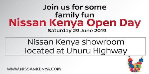 Nissan Kenya Open Day