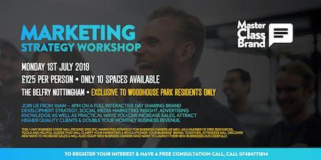 MasterClassBrand Marketing Workshop (Woodhouse Park) tickets