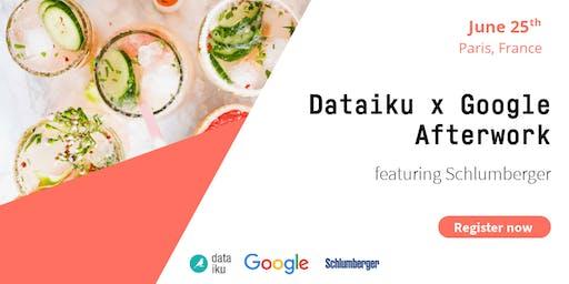 Afterwork Dataiku x Google (ft. Schlumberger)