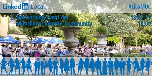 #LiLoMUC Biergarten Get2gether der Münchner LinkedIn-Community