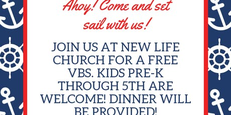 New Life Church Cruise! Vacation Bible School tickets