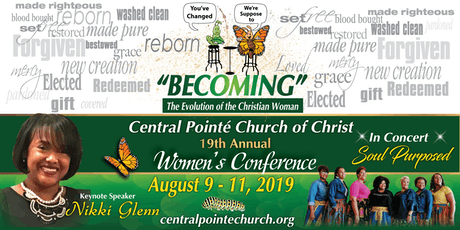Central Pointe' Church of Christ 19th Annual Woman's Conference tickets