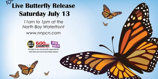 10th Annual Live Butterfly Release Event