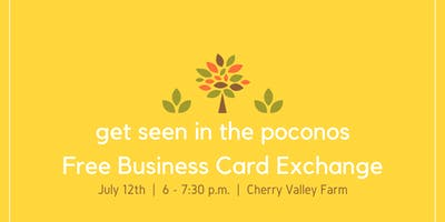 July 2019 Free Business Card Exchange
