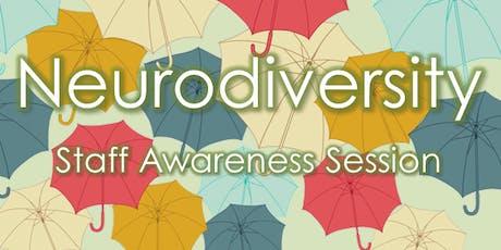 Neurodiversity tickets