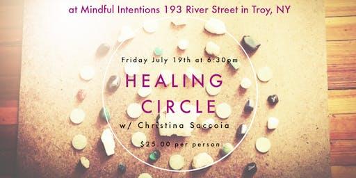 Healing Circle w/Christina Saccoia
