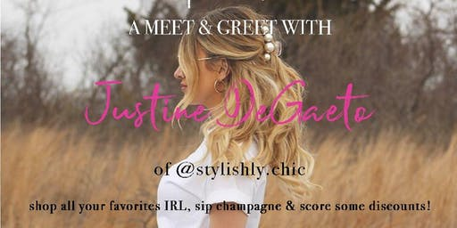 Come SIP & SHOP with @stylishly.chic!
