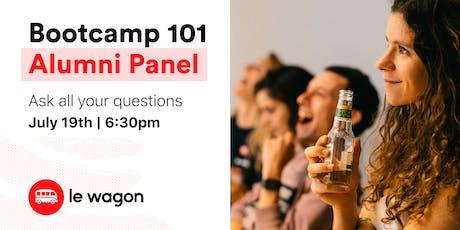 Bootcamp 101: Alumni Panel tickets