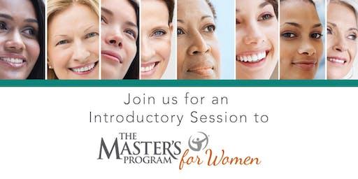 The Master's Program for Women - Washington DC - Session One Audit
