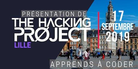 The Hacking Project Lille automne 2019 (présentation gratuite) billets