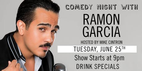 Dada Comedy Night: Ramon Garcia! tickets