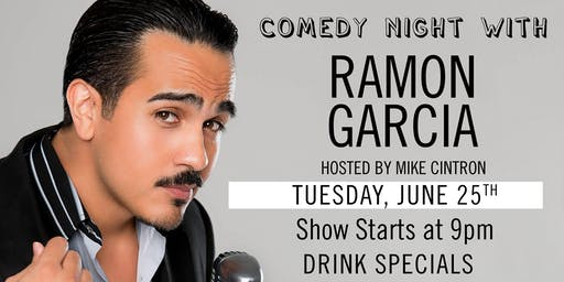 Dada Comedy Night: Ramon Garcia!