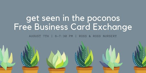 August 2019 Free Business Card Exchange