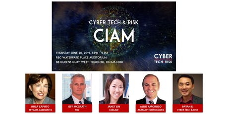 Cyber Tech & Risk - CIAM tickets