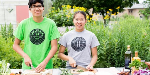 Urban Roots Chef Led Summer Lunch