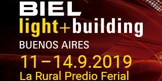 BIEL Light + Building 2019 Buenos Aires #BIELInnova