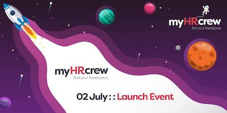 My HR Crew Launch tickets