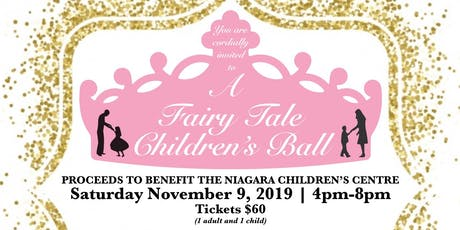 A Fairy Tale Children's Ball - Proceeds to benefit the NCC tickets