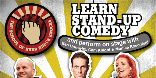 Sydney: Learn Stand-up Comedy - Evenings: August 4 - 8, 2019