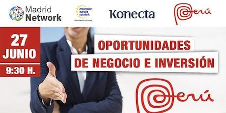 Oportunidades de negocio e inversión en Perú entradas