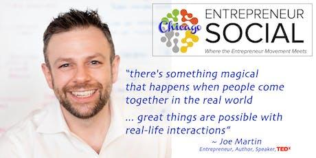 Entrepreneur Social: From Freelancer to Entrepreneur to Company Exit tickets