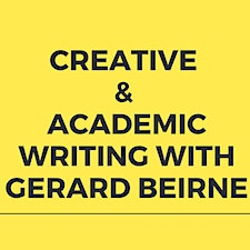 Creative Writing with Gerard Beirne logo