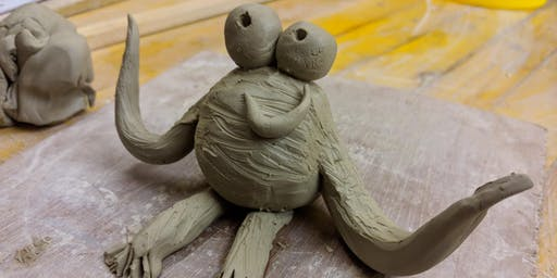 Summer of Space: Make a Clay Alien