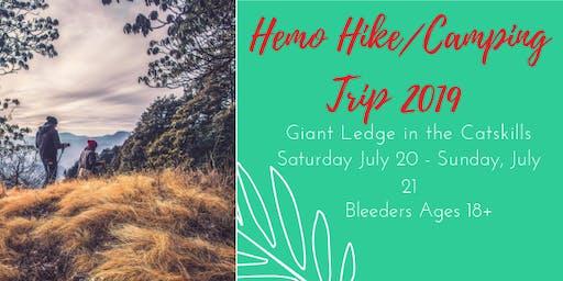Hemo Hike Weekend Camping Trip 2019